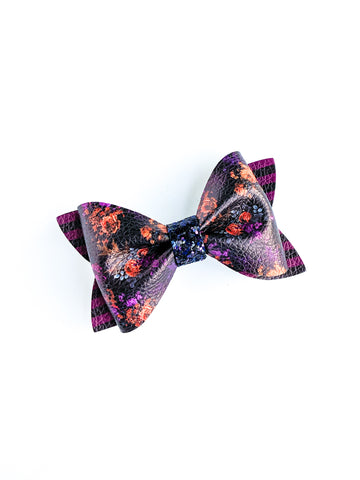 Floral Frida Princess Bow 3.5""