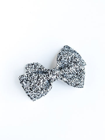 Salt and Pepper Loopy Bow