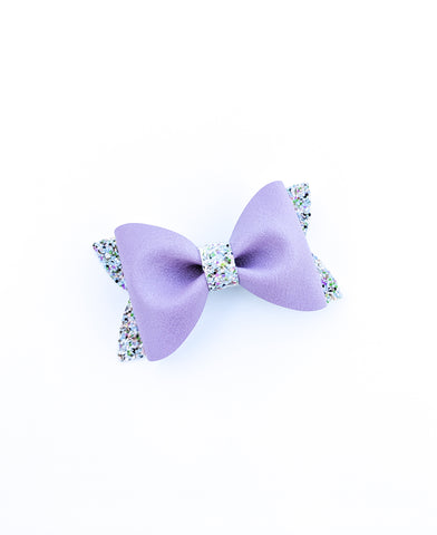 Purple Sands Princess Bow 3.5""