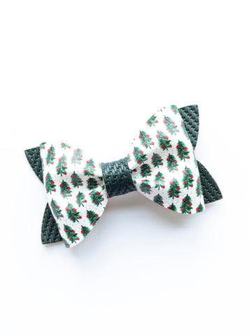 Oh Christmas Tree Princess Bow 3.5""