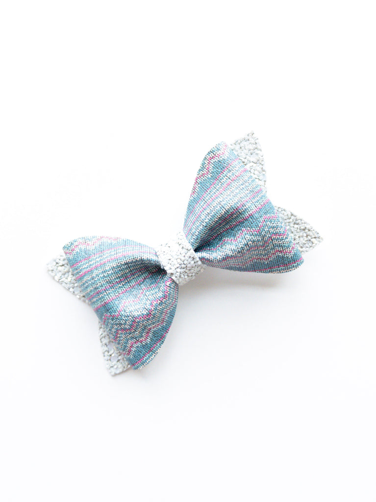 Sweater Weather Princess Bow 3.5""