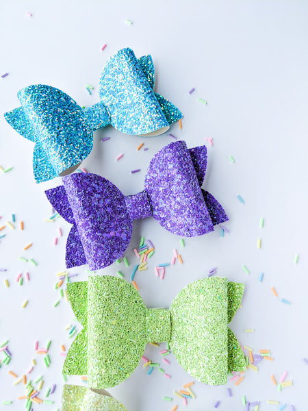 "Spring Shimmer 4.5"" Classic bows"