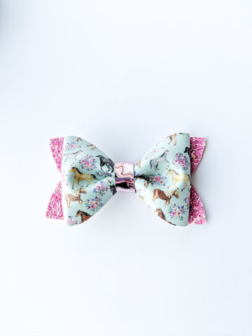 Horses Princess Bow 3.5""