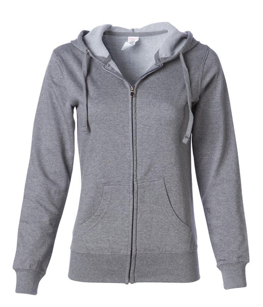 Adventure Chicks Lightweight Fleece Zip Hoodie In Stock