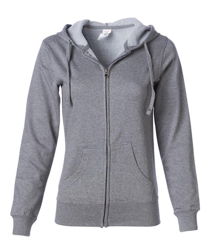 Adventure Chicks Lightweight Fleece Zip Hoodie