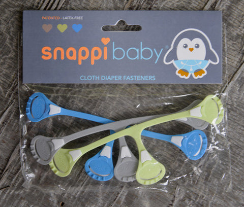 Snappi Diaper Fasteners- 3 Pack