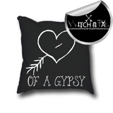 GYPSY heart pillow