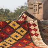 Serenity Handwoven Indian Kilim Rug