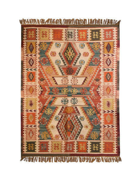 Dakota Handwoven Indian Kilim Rug