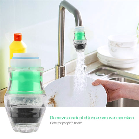 5 Stage Kitchen Mini Water Filter to Remove Rust Chemicals