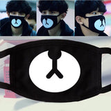 Kpop teeth mouth Fashion Muffle Face Mouth Masks