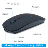 Bluetooth Silent Wireless Mouse