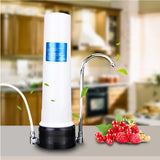 Water Purifier Single Filter  Water Purifier Ceramic Combined Carbon Water Treatment for Home Kitchen Faucet