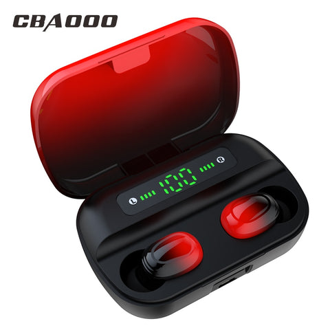 CBAOOO TWS Bluetooth Earphone V5.0