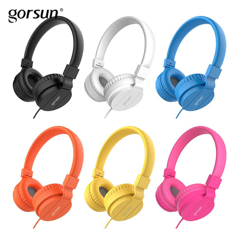 Lightweigh Foldable Wired Headphones for Kids