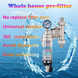 Union Water Purifier Pre-filter Backwash