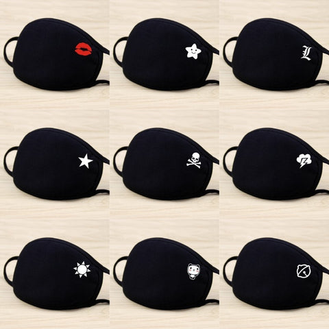 Unisex Cotton Fabric Safety Mask