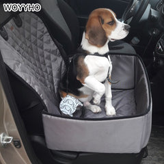 900D Nylon Waterproof Pet Car Carrier Dog Seat Cover Mat Outdoor Carrying Bags Mulitifunction Car Travel Accessories Dog Bag
