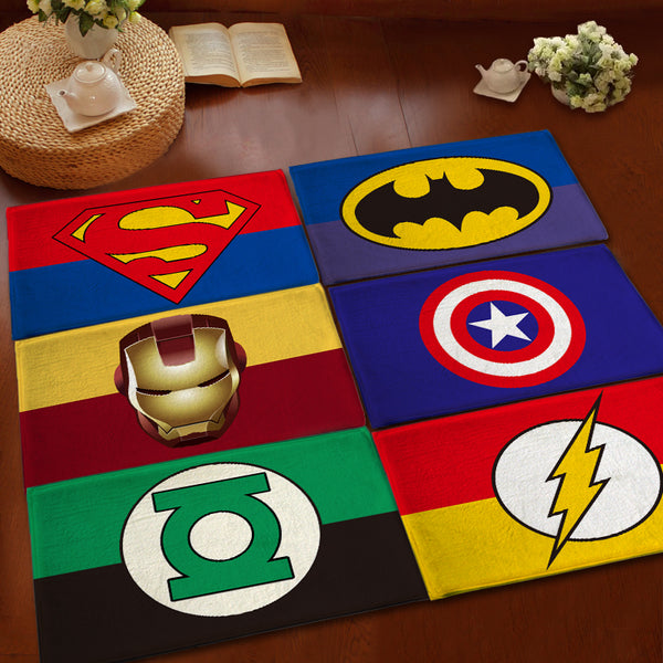 Kids/Children Superhero Cartoon Modern Rugs