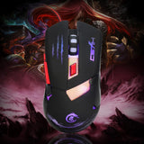 Malloom 2016 Mouse Game Optical PC Laptop 3200 DPI Optical USB Wired Gaming Mouse Mice For PC Laptop Computer Gift Sale