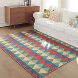 Geometric Bohemia Style Soft Carpets Rugs Bedroom Non-Slip Floor Mats