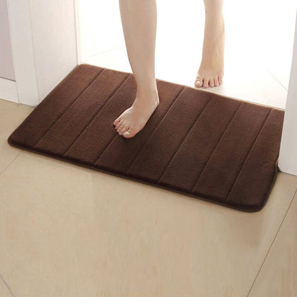 Memory Foam Bath Mats Bathroom Carpet