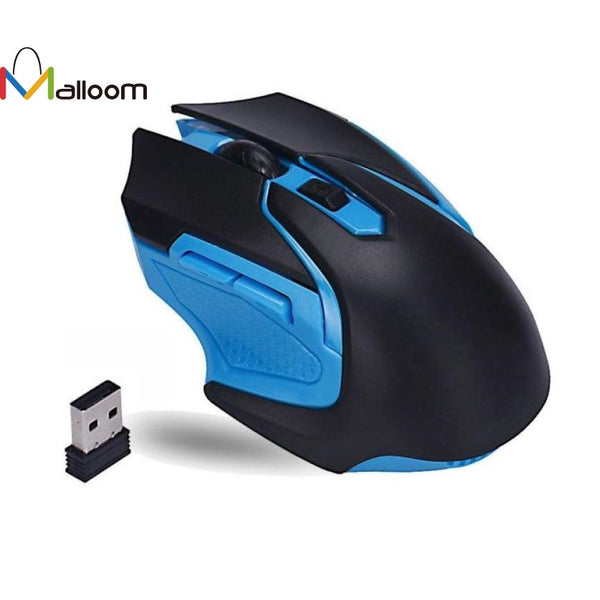 Computer Gamer Mouse 2017 3200 DPI 6 Button 2.4GHz