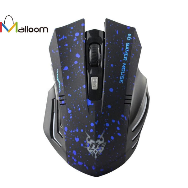 High Quality Fashion 1600 DPI USB Wireless Gaming Mouse