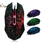 Professional Wired Gaming Mouse 4000 DPI with 6 Buttons