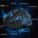 Rechargeable 3200 DPI Led Gaming Mouse