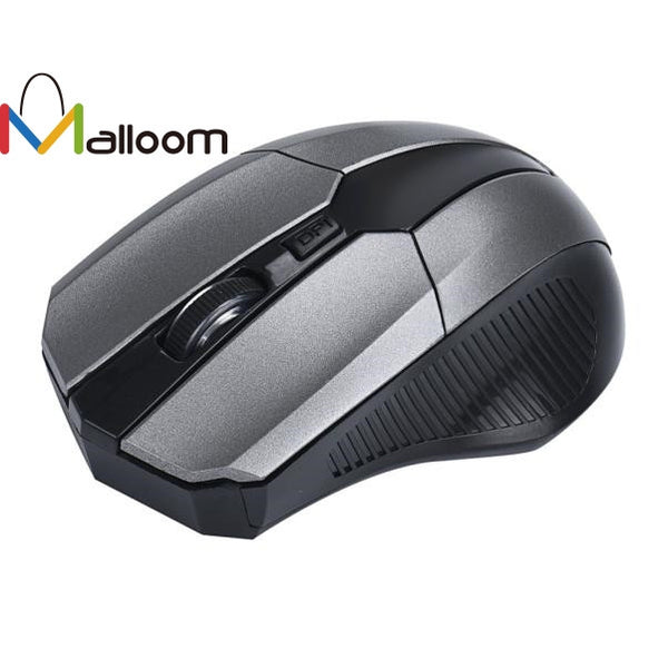 Malloom 2.4GHz Mice Optical Mouse Cordless USB Receiver PC Computer Wireless for Laptop