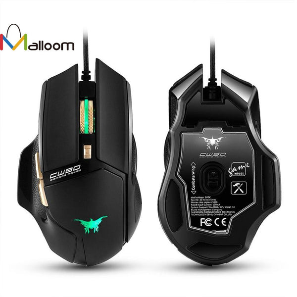 3800 DPI Optical Wired Gaming Mouse