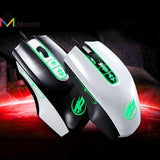 Malloom Newest Computer Mouse 2016 Hot Sale 3200 DPI 7D Buttons LED Wired Gaming Mouse For PC Laptop