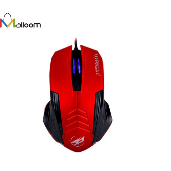 Malloom 2017 Hot Salling Gaming Mouse New Design 1000 DPI  Buttons LED Wired Mouse For PC Laptop