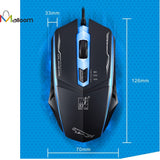 Professional 1600DPI LED Optical Wired Gaming Mouse for Pro