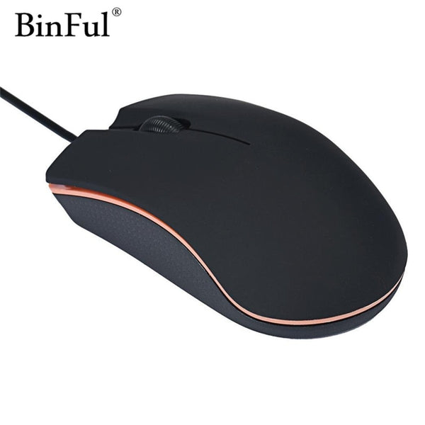 BinFul Optical USB 2.0 LED Wired Game Mouse
