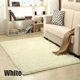 European Soft Shaggy Carpet For Living Room