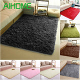 Super Soft Long Plush Silky Mat Carpet