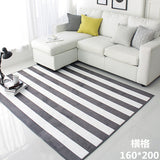 100X160CM Modern Striped Carpets For Living Room