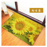 3D Carpet Underwater World/Sunflower Rugs Carpet