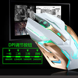 Rechargeable T1 Wireless Silent LED Gaming Mouse