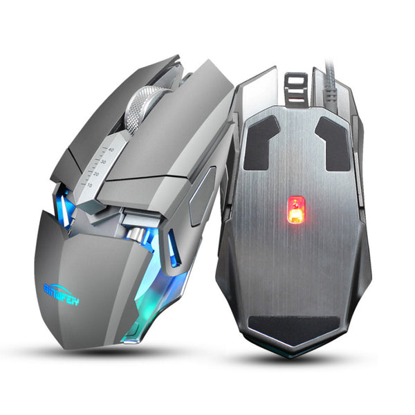 Professional Adjustable 4000DPI 9D LED Optical Wired Gaming Mouse