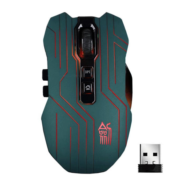 9D 3200DPI Optical 2.4G Wireless Gaming Mouse