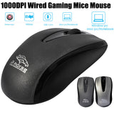 Fashion 1000 DPI USB Wired Optical Gaming Mice Mouse For PC Laptop