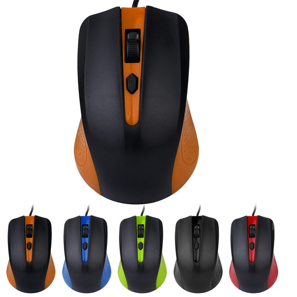 4D USB 1200DPI Wired Optical Mouse Gaming Mice For PC Laptop Games