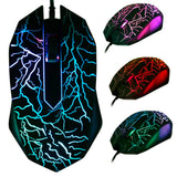 3-Button USB Wired Luminous  Gaming Mouse