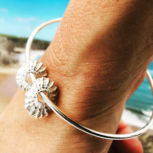 Gower Limpet shells bangle