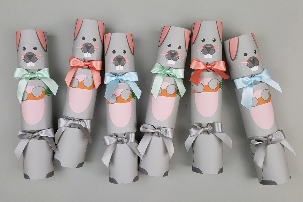EASTER BUNNY RABBIT LUXURY CRACKERS