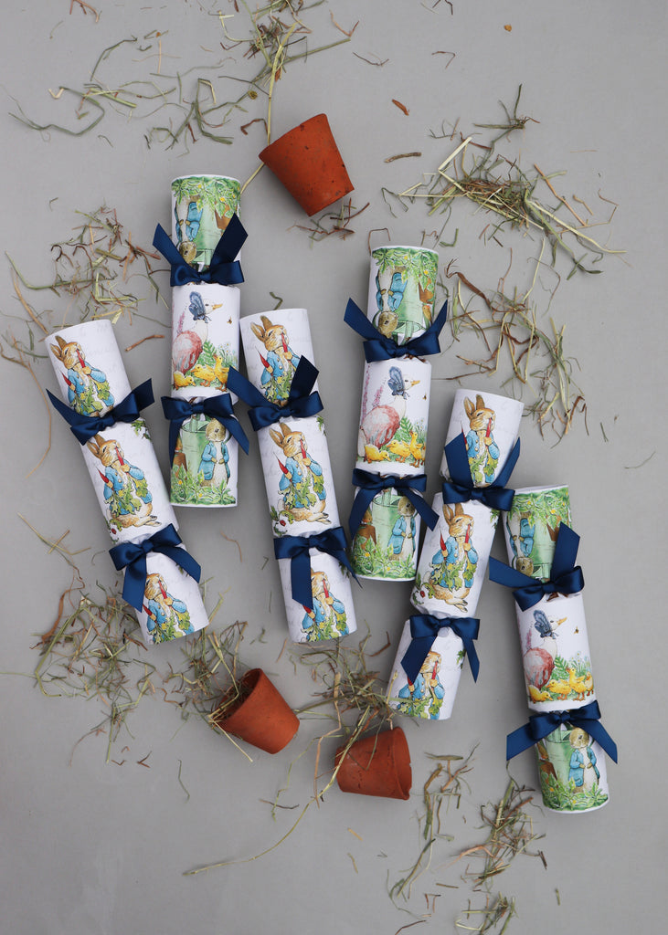PETER RABBIT LUXURY CRACKERS FOR EASTER/BIRTHDAY/CHRISTENING