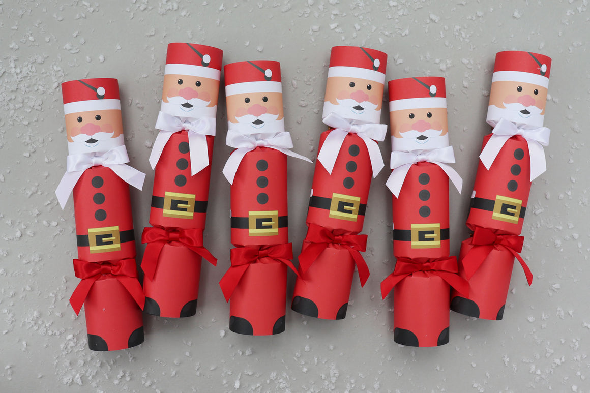 FATHER CHRISTMAS LUXURY CHRISTMAS CRACKERS